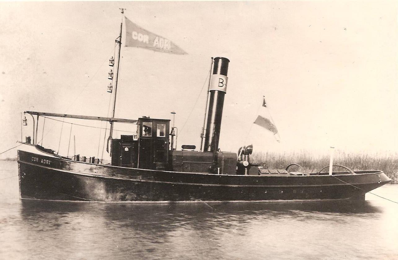 geschiedenis Cor Adri - Stoomsleepboot Maarten