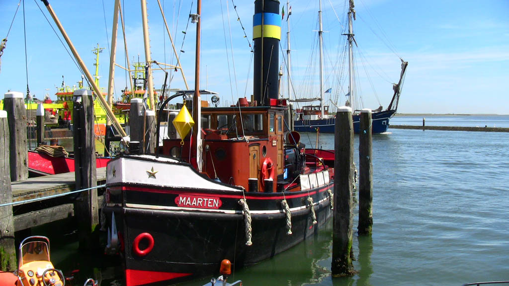 Terschelling Stoomsleepboot Maarten